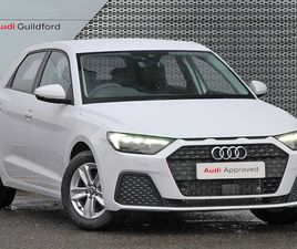WHITE AUDI A1 AUDI A1 SPORTBACK TECHNIK 25 TFSI 95 PS 5-SPEED FOR SALE FOR £18435 IN AYR,
