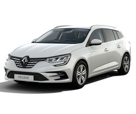 WHITE RENAULT MEGANE 1.6 E-TECH 9.8KWH ICONIC SPORT TOURER AUTO (S/S) 5DR FOR SALE FOR £32