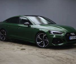 AUDI RS5 RS 5 SPORTBACK 450 PS TIPTRONIC 2.9 5DR