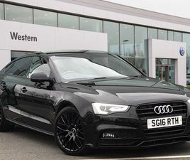 AUDI A5 SPORTBACK 2.0 TDI (190PS) BLACK EDITION PLUS 5DR