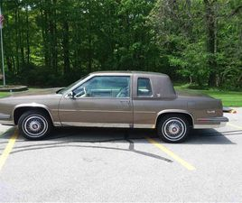 FOR SALE: 1986 CADILLAC COUPE DEVILLE IN KIRTLAND, OHIO