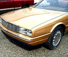 FOR SALE: 1987 CADILLAC ALLANTE IN STRATFORD, NEW JERSEY