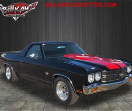 FOR SALE: 1970 CHEVROLET EL CAMINO IN DOWNERS GROVE, ILLINOIS