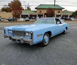 FOR SALE: 1978 CADILLAC ELDORADO IN ATLANTA, GEORGIA