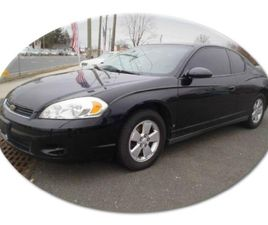 FOR SALE: 2006 CHEVROLET MONTE CARLO IN STRATFORD, NEW JERSEY