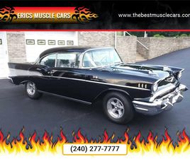 FOR SALE: 1957 CHEVROLET BEL AIR IN CLARKSBURG, MARYLAND