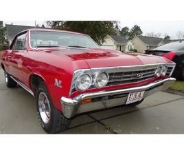 FOR SALE: 1967 CHEVROLET CHEVELLE SS IN NEW BERN, NORTH CAROLINA