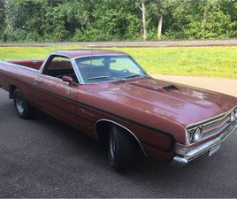 FOR SALE: 1969 FORD RANCHERO IN CADILLAC, MICHIGAN