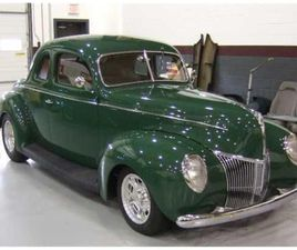 FOR SALE: 1939 FORD DELUXE IN CADILLAC, MICHIGAN