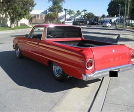 FOR SALE: 1962 FORD RANCHERO IN CADILLAC, MICHIGAN