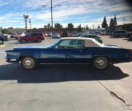 FOR SALE: 1968 CADILLAC ELDORADO IN CADILLAC, MICHIGAN