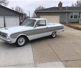 FOR SALE: 1963 FORD RANCHERO IN CADILLAC, MICHIGAN