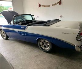 FOR SALE: 1956 CHEVROLET BEL AIR IN CADILLAC, MICHIGAN