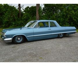 FOR SALE: 1963 CHEVROLET BEL AIR IN CADILLAC, MICHIGAN