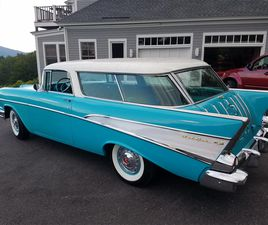 FOR SALE: 1957 CHEVROLET BEL AIR NOMAD IN SUNAPEE, NEW HAMPSHIRE