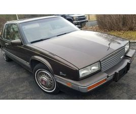 FOR SALE: 1986 CADILLAC ELDORADO IN CADILLAC, MICHIGAN