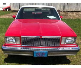 FOR SALE: 1978 CHEVROLET EL CAMINO IN CADILLAC, MICHIGAN