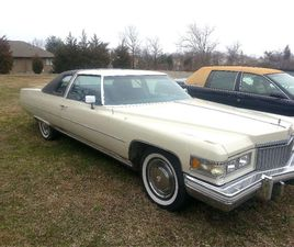 FOR SALE: 1975 CADILLAC DEVILLE IN STRATFORD, NEW JERSEY