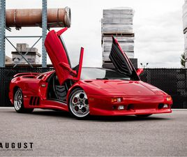 FOR SALE: 1998 LAMBORGHINI DIABLO IN KELOWNA, BRITISH COLUMBIA