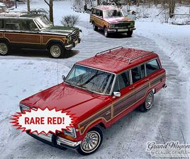 FOR SALE: 1986 JEEP GRAND WAGONEER IN BEMUS POINT, NEW YORK
