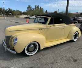 FOR SALE: 1940 FORD DELUXE IN CADILLAC, MICHIGAN