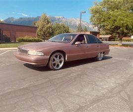 FOR SALE: 1991 CHEVROLET CAPRICE IN CADILLAC, MICHIGAN