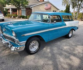 FOR SALE: 1956 CHEVROLET BEL AIR NOMAD IN NUNICA, MICHIGAN