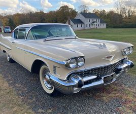 FOR SALE: 1958 CADILLAC COUPE DEVILLE IN EASTON, CONNECTICUT