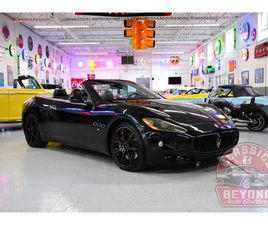 FOR SALE: 2011 MASERATI GRANTURISMO IN WAYNE, MICHIGAN