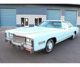 FOR SALE: 1978 CADILLAC ELDORADO IN CADILLAC, MICHIGAN