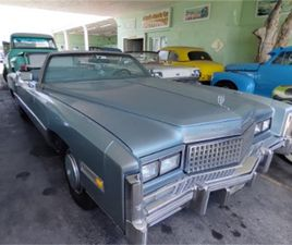 FOR SALE: 1975 CADILLAC ELDORADO IN MIAMI, FLORIDA