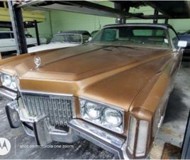 FOR SALE: 1972 CADILLAC ELDORADO IN MIAMI, FLORIDA