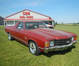 FOR SALE: 1972 CHEVROLET EL CAMINO IN CELINA, OHIO