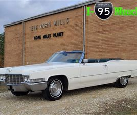 FOR SALE: 1969 CADILLAC COUPE DEVILLE IN HOPE MILLS, NORTH CAROLINA