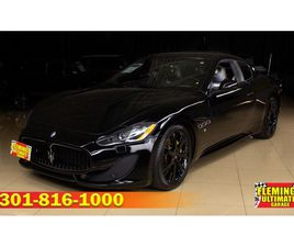FOR SALE: 2014 MASERATI GRANTURISMO IN ROCKVILLE, MARYLAND