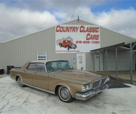 FOR SALE: 1964 CHRYSLER NEW YORKER IN STAUNTON, ILLINOIS