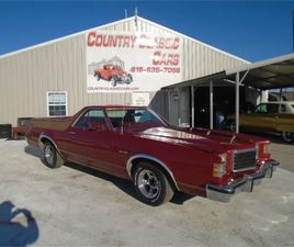 FOR SALE: 1978 FORD RANCHERO IN STAUNTON, ILLINOIS
