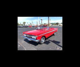 FOR SALE: 1964 MERCURY CONVERTIBLE IN GREENVILLE, NORTH CAROLINA