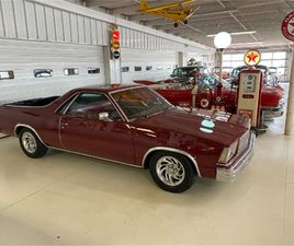 FOR SALE: 1979 CHEVROLET EL CAMINO IN COLUMBUS, OHIO