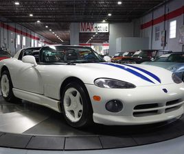 FOR SALE: 1996 DODGE VIPER IN PITTSBURGH, PENNSYLVANIA