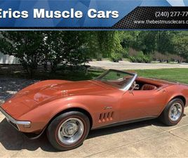 FOR SALE: 1968 CHEVROLET CORVETTE IN CLARKSBURG, MARYLAND