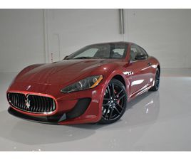 FOR SALE: 2012 MASERATI GRANTURISMO IN CHARLOTTE, NORTH CAROLINA