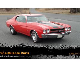 FOR SALE: 1970 CHEVROLET CHEVELLE SS IN CLARKSBURG, MARYLAND