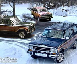 FOR SALE: 1989 JEEP GRAND WAGONEER IN BEMUS POINT , NEW YORK