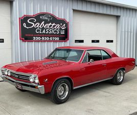 FOR SALE: 1967 CHEVROLET CHEVELLE SS IN ORVILLE, OHIO