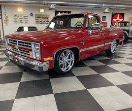 FOR SALE AT AUCTION: 1985 CHEVROLET C10 IN GREENSBORO, NORTH CAROLINA
