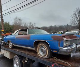 FOR SALE: 1973 CHEVROLET CAPRICE IN WOODSTOCK, CONNECTICUT
