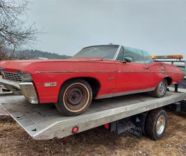 FOR SALE: 1968 CHEVROLET CAPRICE IN WOODSTOCK, CONNECTICUT