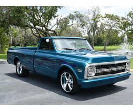 FOR SALE AT AUCTION: 1970 CHEVROLET C10 IN GREENSBORO, NORTH CAROLINA