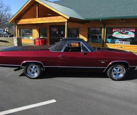 FOR SALE: 1972 CHEVROLET EL CAMINO SS IN GOODRICH, MICHIGAN